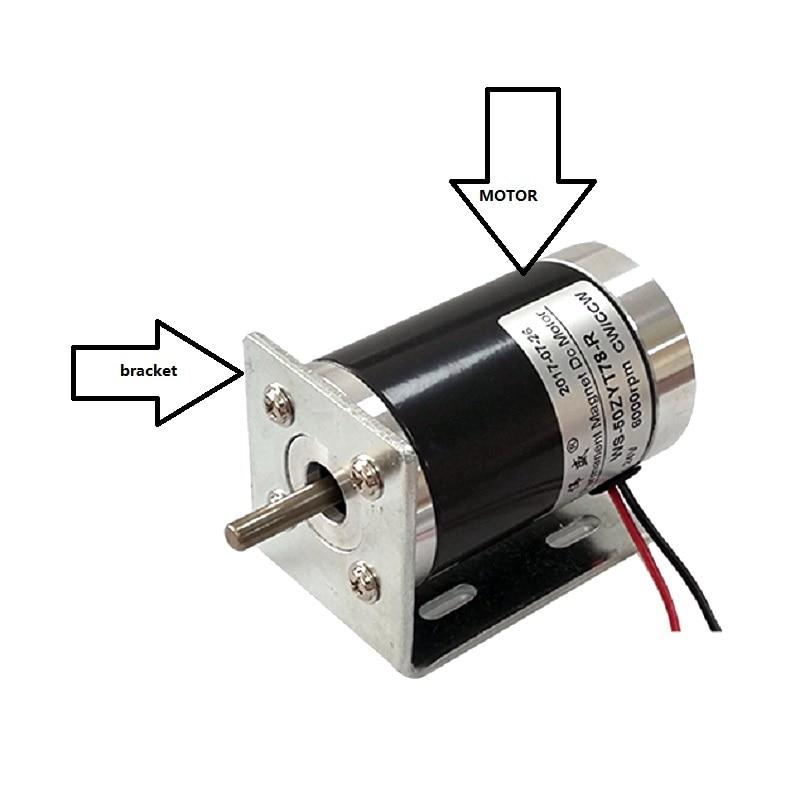 50ZYT78-R DC motor 12V/24V small motor / DC speed motor / DC high speed motor