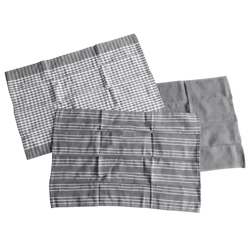 9 قطعة/مجموعة من مناشف المطبخ الكلاسيكية منشفة من القطن طبق القماش ماصة آلة الشعر أدوات المائدة المنزل