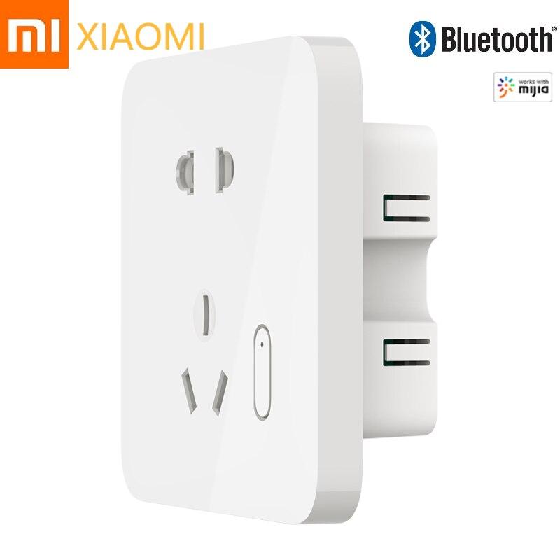 Xiaomi-مقبس الحائط الذكي Mi ، ومفتاح الحائط اللاسلكي ، وبلوتوث ، واتصال صوتي ، وتطبيق MiJIA ، جديد
