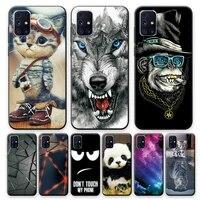 Case For Samsung Galaxy M31S Case For Samsung M31S Soft TPU Silicon Phone Case For Samsung M31S SM-M317F Case 6 5 inch Bumper