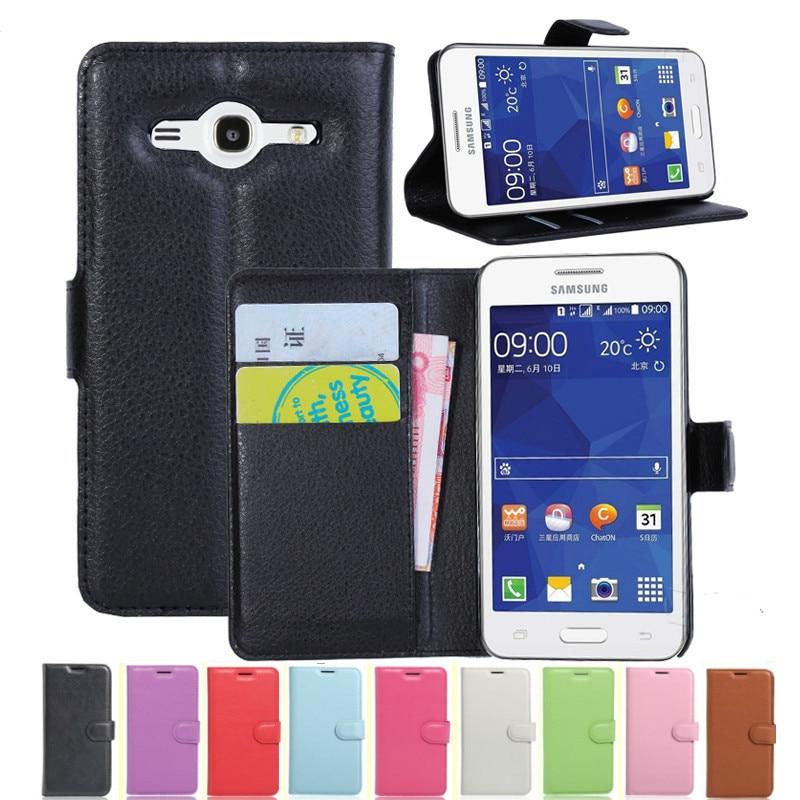 Para samsung galaxy core2 núcleo 2 duos sm g355h carteira capa flip couro telefone caso g355hds g355m SM-G355H SM-G355M SM-G355h/ds