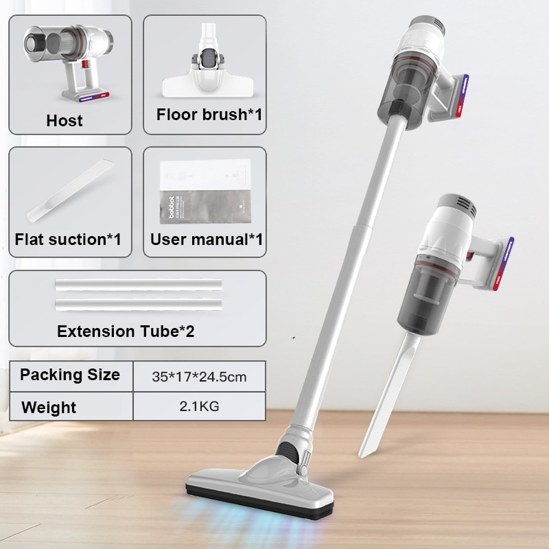 Wireless Cordless High Suction 8kPa Handheld Vertical Vacuum Cleaner for Home Bed Sofa Clean Machine Robot Vacuum Carpet Cleaner