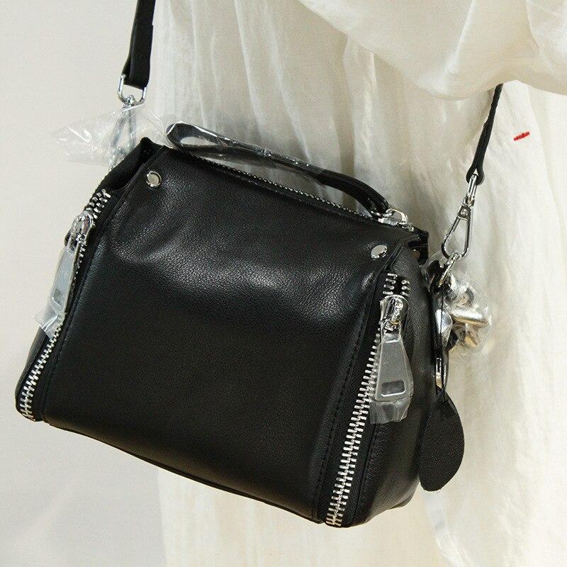 ميسول-حقائب يد جلدية أصلية للنساء ، حقيبة يد فاخرة ، سلسلة سميكة ، نمط دلو ، حقيبة حمل ، حقيبة كتف عصرية ، نوعية جيدة