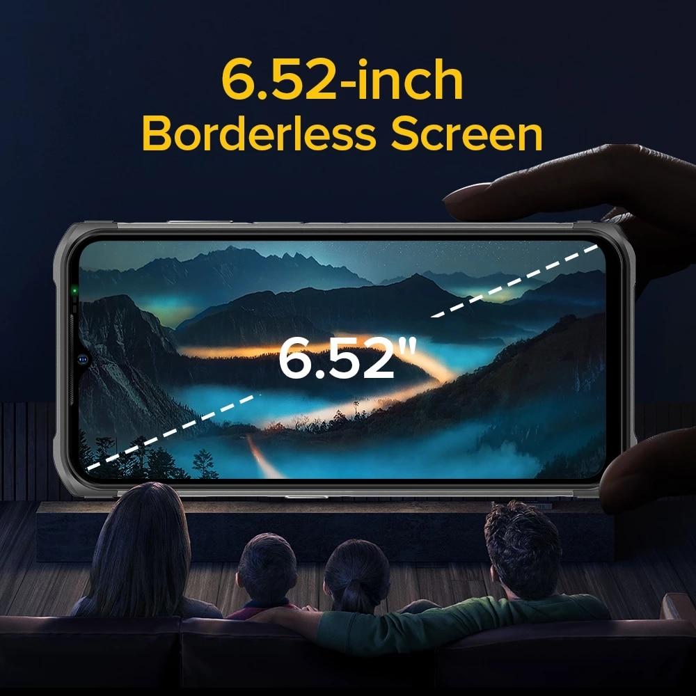 "Ulefone Armor 12 Global Version 5G Waterproof Mobile Phone Android 11 8GB+128GB 6.52""5180 mAh Wireless Charging NFC Rugged Phone enlarge"