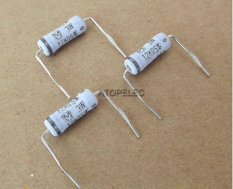 1pc Matsushita M Japan 3W 5% Metal-Oxide Film Resistors 0.15R-200K 3.9R/10R/100R/470R/1K/10K/100K Selectable