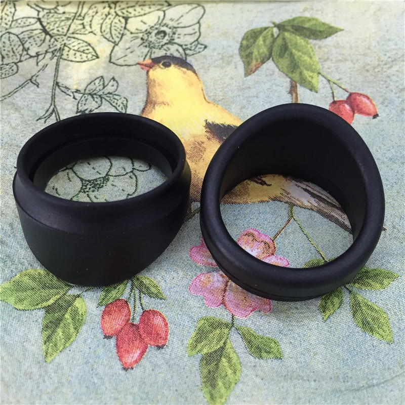 20 PCS Eye Cups Stereo Microscope Eyepiece Shield 32-35mm Rubber Eye Guards Eyecups