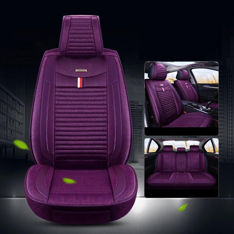 Cubierta de asiento de coche universal para auto Audi A3 A4 B8...