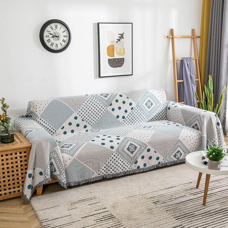 الأمريكية مستطيل أريكة منشفة أريكة بطانية دثار محبوك غطاء بطانية أريكة غطاء غبار بطانية واحدة متعددة الأغراض