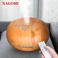 Humidificateur dair ultrasonique Bauhinia 550ML  diffuseur dhuile essentielle avec telecommande  aromatherapie  pour maison avec veilleuse