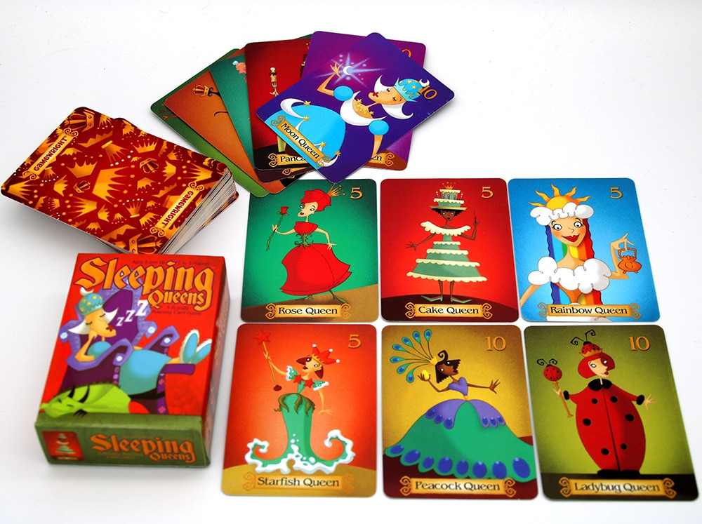 Фото - 2020 Full English Sleeping Queens Board Game 2-5 Players For Family Gift Wake Queens Up Strategy Game Funny Kids Game Toys geistesing board game 2 8 players family party best gift for children english instructions cards game reaction blitz game