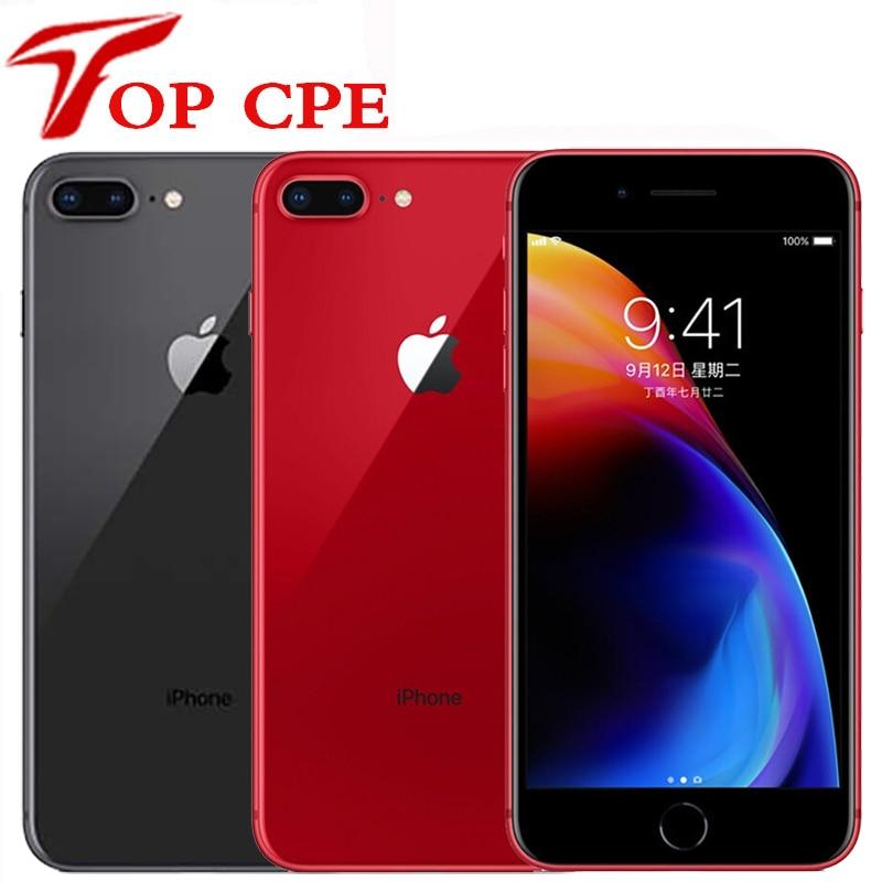 Original Apple iPhone 8 plus 64GB/256GB Hexa Core 3D Touch ID LTE WIFI 12.0MP 4.7 pouces empreinte digitale utilisé téléphone portable
