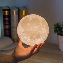 Children's Night Light 3D Moon Toy Lighting Projector Print Starry Lamp Bedroom Decoration Sky Night