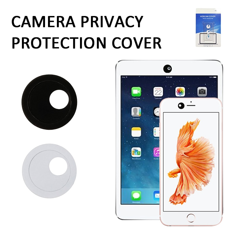 1/3 Pcs Round Rotation Privacy Webcam Camera Lens Cap For IPhone Mobile Phone Laptop PC Tablet Camer