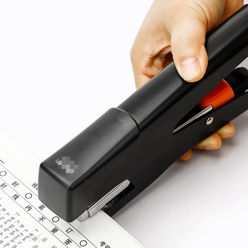Ручной степлер для толстых книг, многофункциональный мини-степлер для студентов, маленький домашний ручной средний степлер