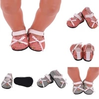 7cm doll shoes clothes handmade shoes for 18 inch american43cm baby new born doll generation girl toys diy 13 bjd doll shoes