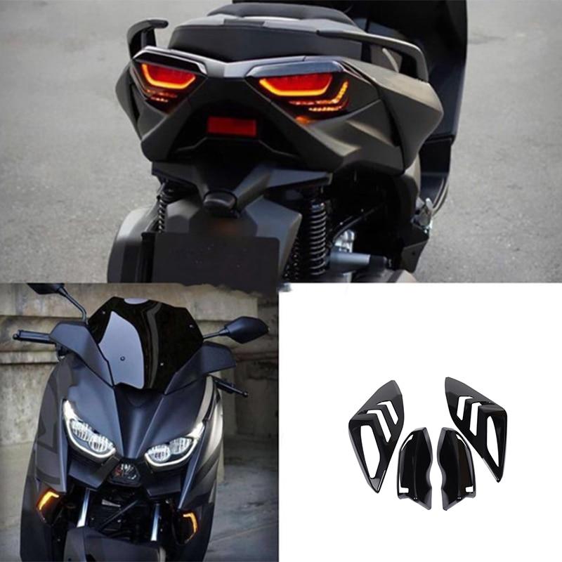 دراجة نارية الجبهة الخلفية بدوره إشارة الذيل تامب غطاء خفيف شل غطاء ل XMAX125 XMAX250 XMAX300 XMAX400 Xmax-125 2017 2018 2019