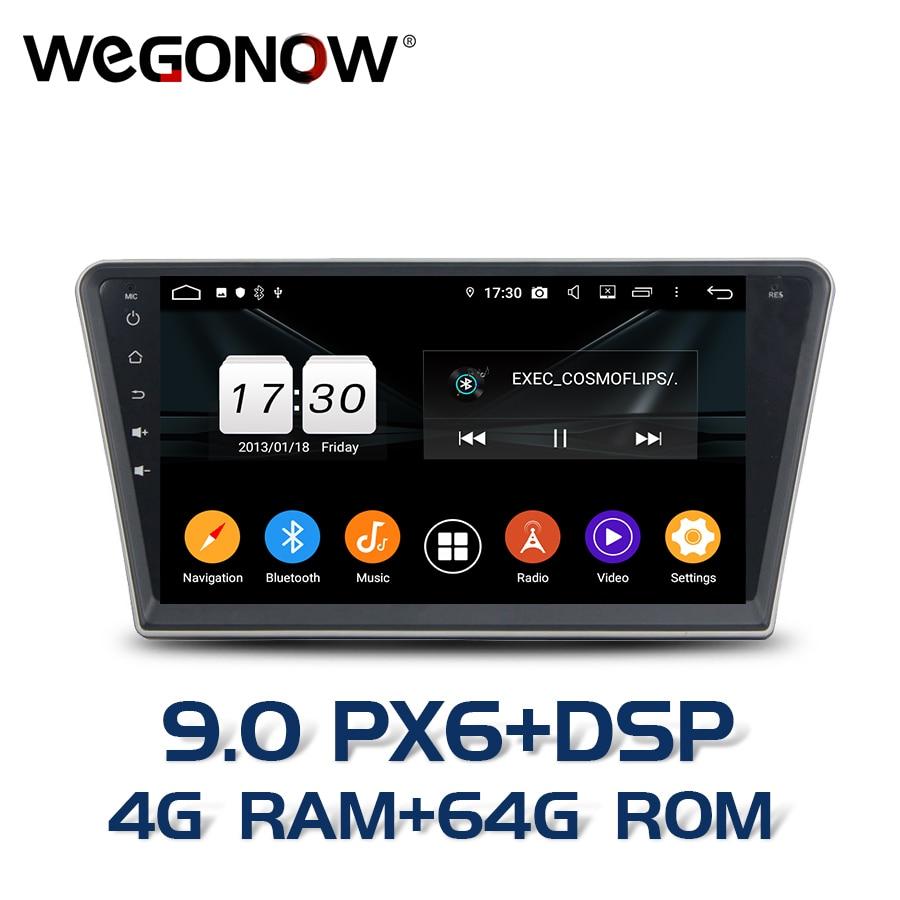 PX6 DSP Android 9,0 para PEUGEOT PG 408 2014-2016 4GB RAM 64GB coche multimedia reproductor de radio mapa GPS RDS Radio wifi Bluetooth5.0