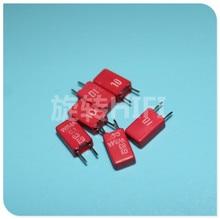 20pcs Original teardown RED WIMA MKS02 0.1UF 63V 100NF 104/63V p2.5 104 100nF/63v 0.1uF/63v