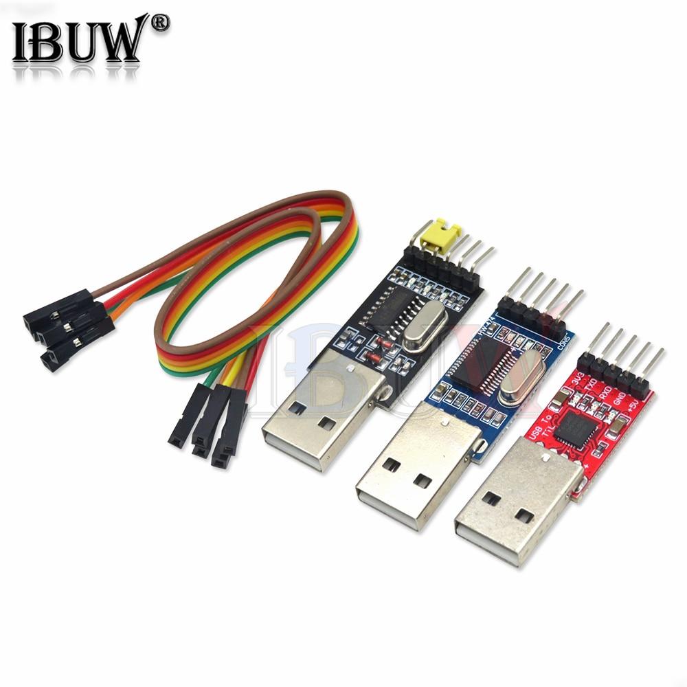 PL2303HX CP2102 CH340G USB TO TTL PL2303 CP2102 5PIN USB to UART TTL Module For Arduino