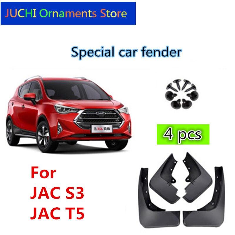 Guardabarros de guardabarros de coche, guardabarros de guardabarros, accesorios para JAC T5, JAC refine S3