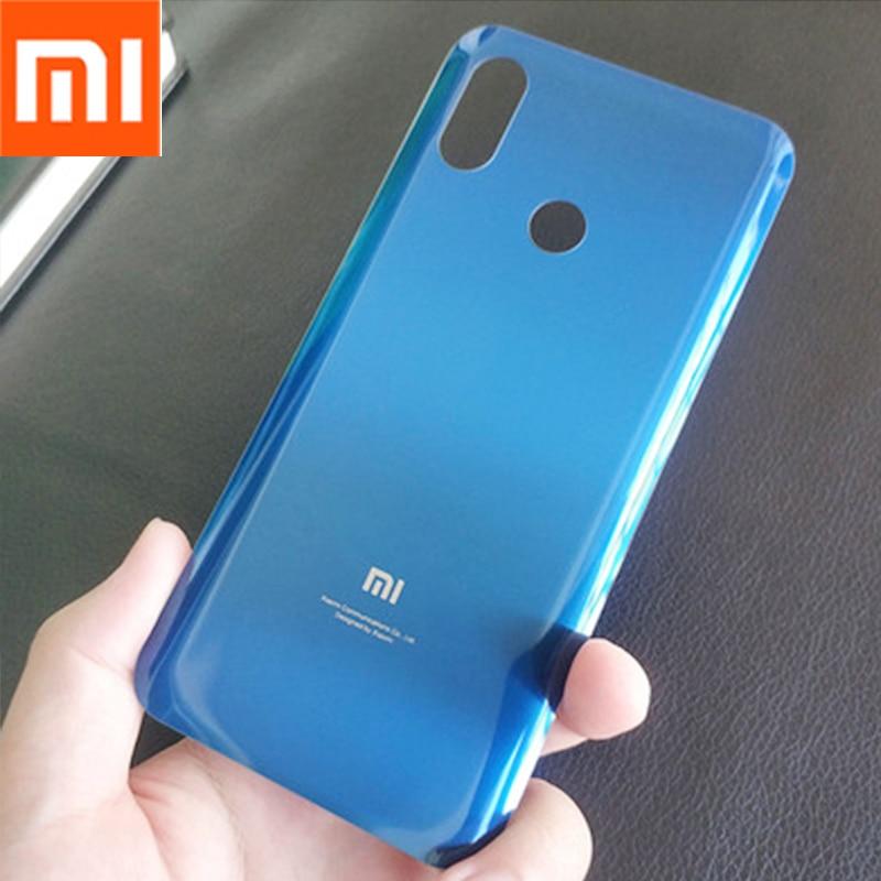 Original Xiaomi mi 8 mi8 Glass Back Battery Cover Rear Door Housing Case Cove Panel Replacement Phon