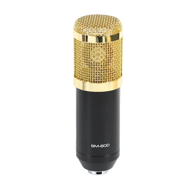 Bm 800 Microphone Kit for Computer with V8X Pro Sound Card Studio Live Stream Broadcasting Recording Condenser enlarge