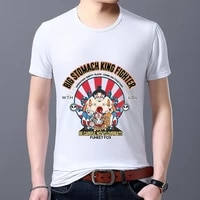 mens t shirt funny mask printing hot selling classic student slim short sleeve top commuter breathable wild t shirt