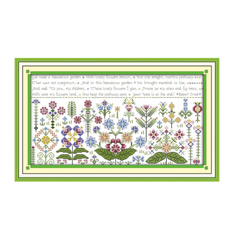 Tapeçaria (2) kit ponto cruz 18ct 14ct 11ct contagem tela impressa costura bordado diy bordado artesanal needlework