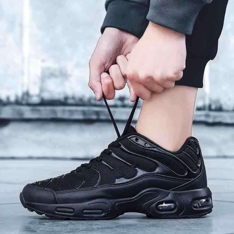 Heidsy 2020 Neue Mode Casual Schuhe Männer Turnschuhe Air Kissen Atmungsaktivem Nicht-leder Lässig Leichte Schuhe Männer