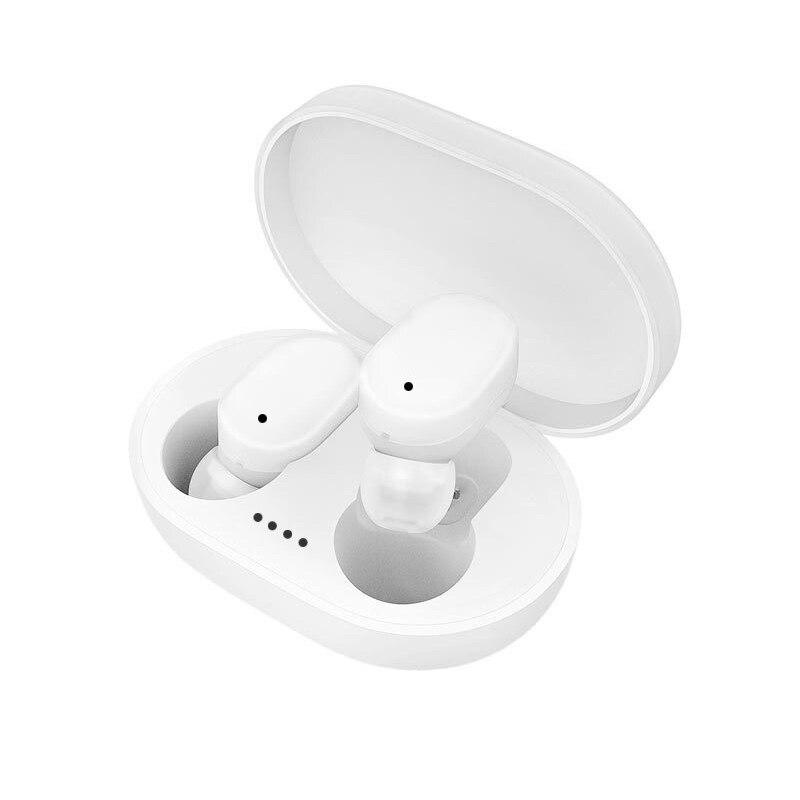Auriculares inalámbricos Bluetooth 5,0 con estuche de carga en la oreja Mini auriculares con caja de carga para teléfonos negro/blanco