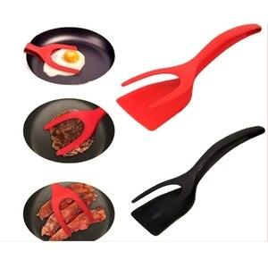 Силиконовая лопатка для жарки стейка, бытовые кухонные инструменты с высокой термостойкостью