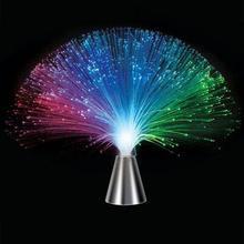 Colorido LED fibra óptica flor luz estrella cielo en forma de Festival atmósfera noche lámpara Día de San Valentín boda fiesta hogar Decoración