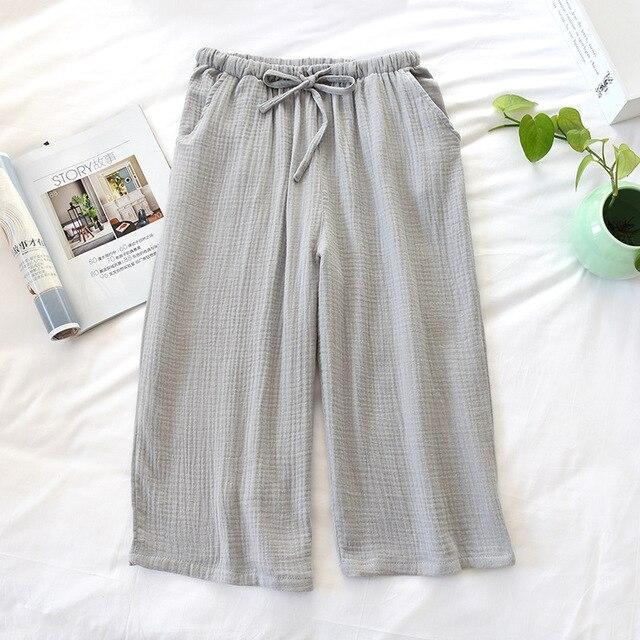 Body de verano para hombres y mujeres, 100%, crepé de algodón, Pijama...