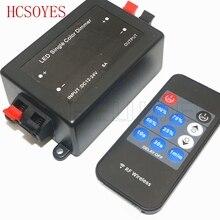 11key RF télécommande sans fil lumière LED couleur unique RF gradateur contrôleur pour 5050 3528 3014 2835 bande Led Flexible DC12V-24V