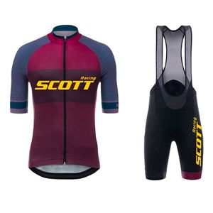 2021 Scott Racing  Pro Team Cycling Jersey Men Summer MTB Bike Jersey Shirt Quick Dry Bicycle Clothing Cycling Clothes