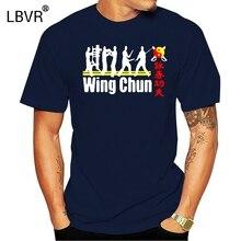 Print 2020 Creative fashion Summer Style New Grand Master Ip Man Wing Chun Tsun Kungfu Mens T Shirt