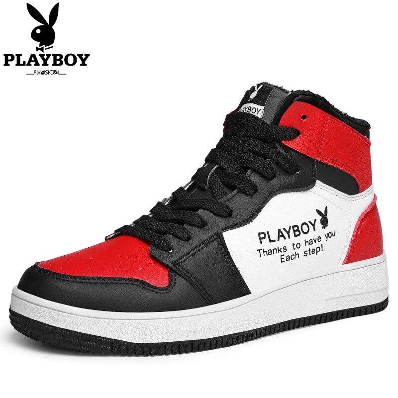 2020 חדש פלייבוי גבוהה למעלה מזדמן לוח נעלי ספורט אופנה גבוהה-איכות לנשימה עמיד למים ללבוש עמיד דאודורנט נעליים