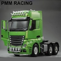 for 114 tamiya rc truck series new three axle 3363 mercedes benz high top tractor open version