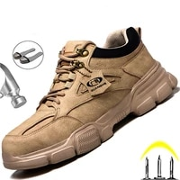male safety shoes work sneakers indestructible work safety boots winter shoes men steel toe shoes sport safty shoes dropshipping