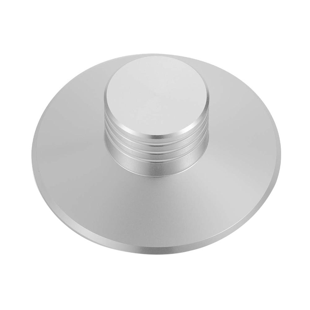 Registro ergonómico estabilizador de disco duradero reducir vibrador aluminio ajustar peso abrazadera reproductor sólido Balanced LP Vinyl Turntable
