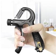 5-60Kg Verstelbare Tellen Voorjaar Vinger Grip Gym Onderarmtrainer Met Anti-Slip Handvat