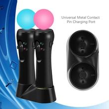 PS4 PS VR Bewegen Dual Controller Mini USB Ladegerät Stand Lade Dock für Sony Playstation 4 Play Station 4 PS 4 PSVR Bewegen Gamepad
