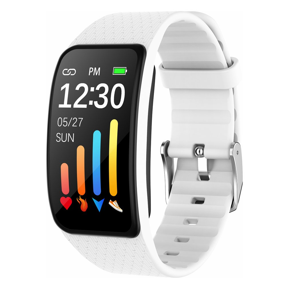 Teste de Freqüência Monitoramento de Movimento Relógio à Prova Água para Homem e Mulher Esportes Relógio Inteligente Termômetro Sono Cardíaca Caloria Dwaterproof