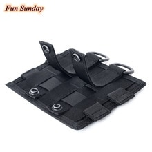 Nylon 1000D Molle Pouch Attachment EDC Tool Bag Accessories Outdoor Accessory Pack Multipurpose Util