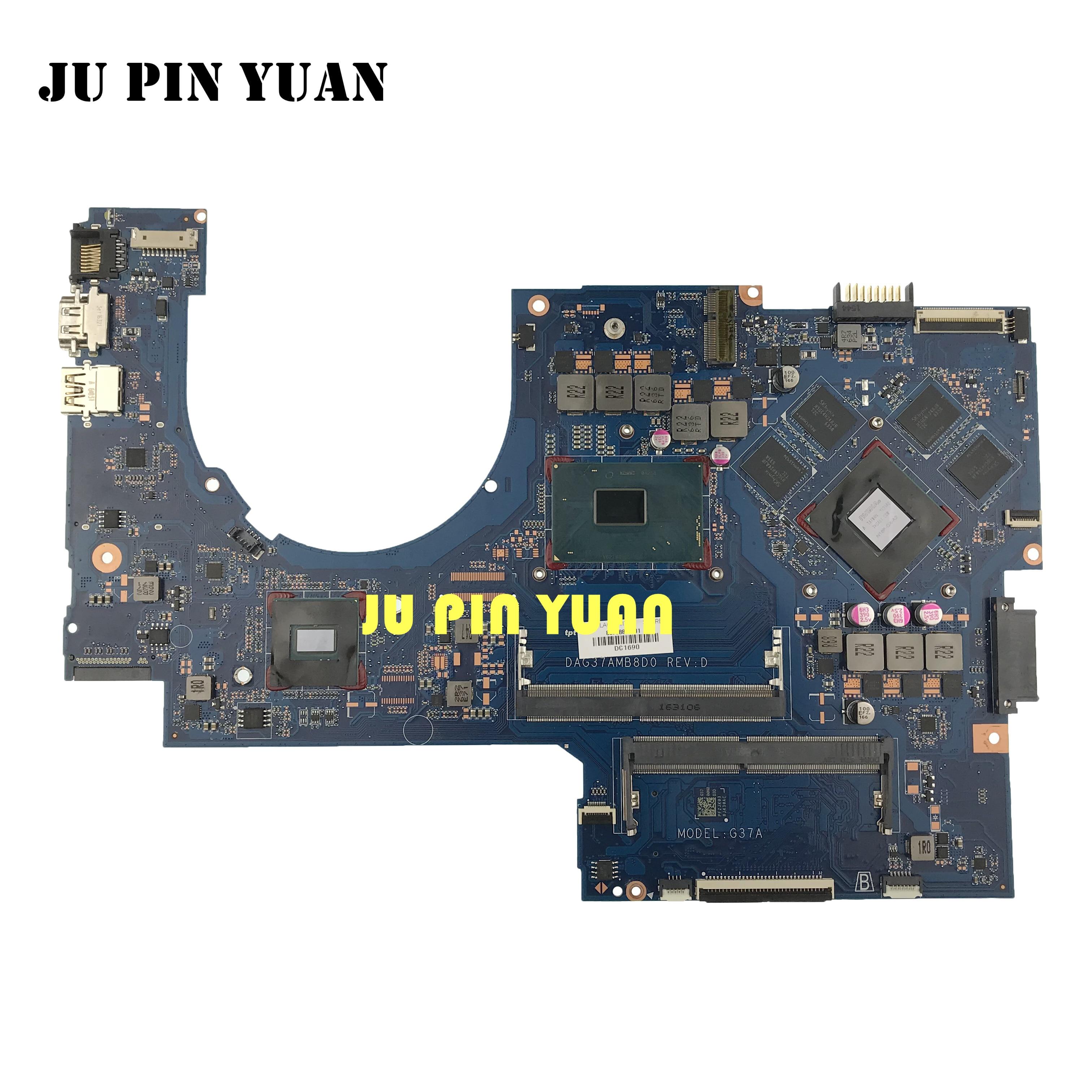 Placa base para ordenador portátil 857389-601 DAG37AMB8D0 G37A para HP PAVILION 17-AB 17-W serie 857389-001 con 960M 2GB i7-6700HQ
