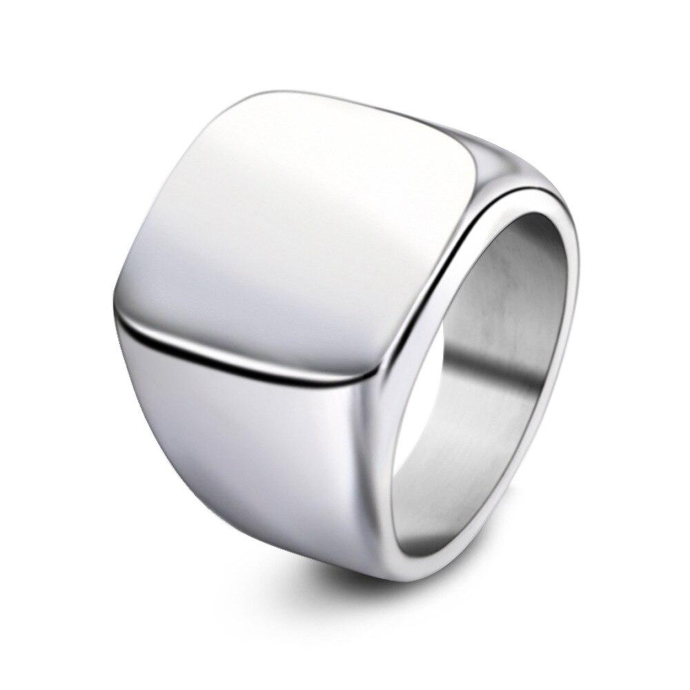 Anel masculino estudante união único casal anel dominador personalidade retro estudante jóias