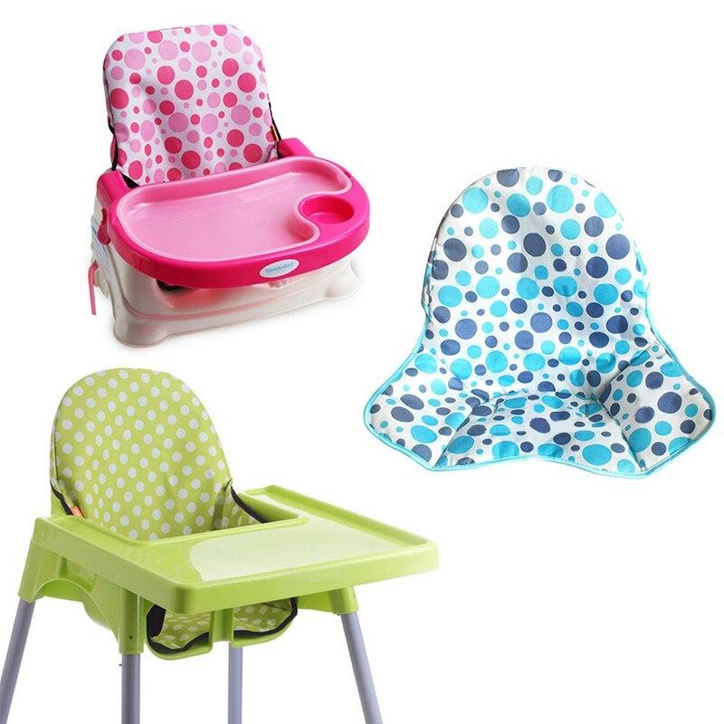 Складной Водонепроницаемый чехол на сиденье для детского стула, коврики-бустеры для кормления