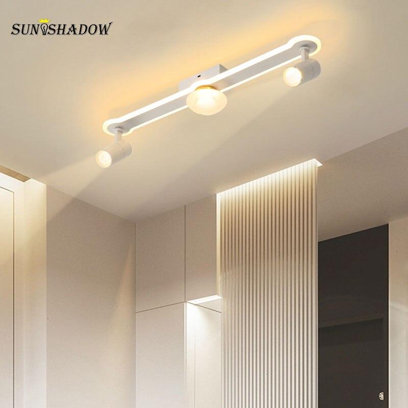 New Led Ceiling Light Modern Indoor L60 L80 L100 L120cm Home Ceiling Room For Aisle Corridor Living Room Bedroom Ligth Fixture