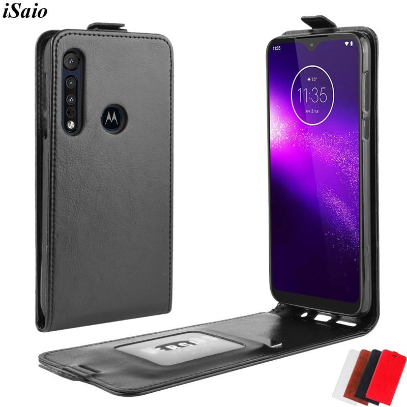 Étui à rabat pour Motorola MOTO G8 Play Plus housse en cuir pour MOTO un Zoom Macro coque de téléphone magnétique souple