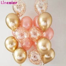 18pc 12inch Metal Chrome Latex Balloons Wedding Birthday Kids Party Decorations Home Baby Shower DIY